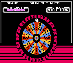 Wheel of Fortune - Cut-Scene  - The wheel. - User Screenshot