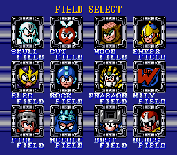 Elec Man -Level Select :Field Select - User Screenshot