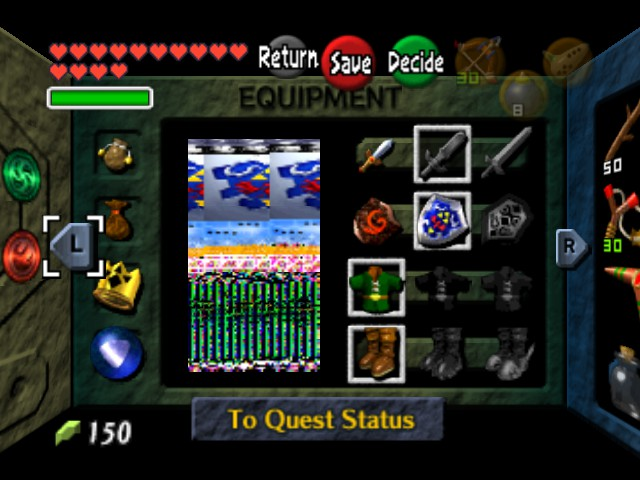The Legend of Zelda - Ocarina of Time (Debug Edition) - Character Profile  - thats me - User Screenshot