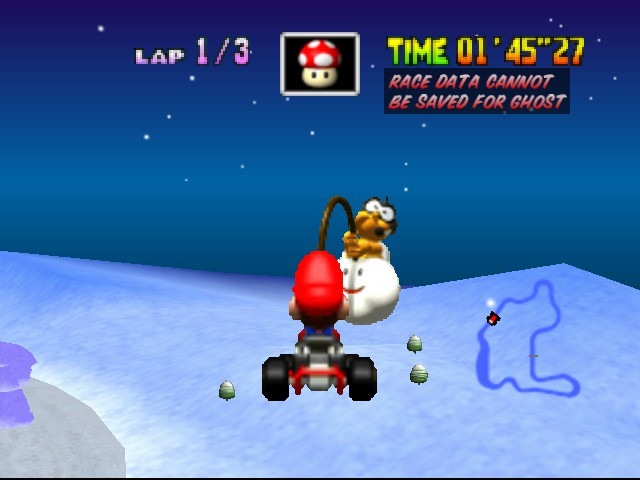 Mario Kart 64 - Misc  - so high... - User Screenshot