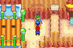 luigi stop puking out its gross