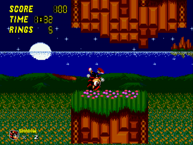 Sonic 2 - Project Shadow - ouch. - User Screenshot