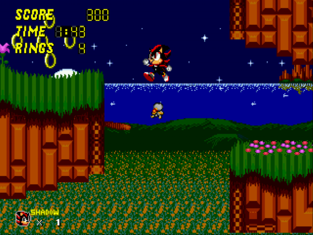 Sonic 2 - Project Shadow - OH MAN THE PLATFORM - User Screenshot