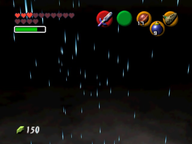The Legend of Zelda - Ocarina of Time (Debug Edition) - Location  beta room - Uhm... What the...How the...Where the... - User Screenshot