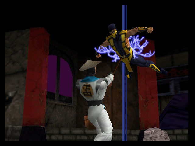 Mortal Kombat 4 - Battle  - thats quite a shocking situaion - User Screenshot