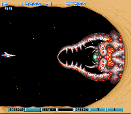 Gradius III - Battle  - Almost looks like a Sand Pincher. - User Screenshot