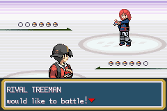 Pokemon Shiny Gold - Battle  - rival battle - User Screenshot