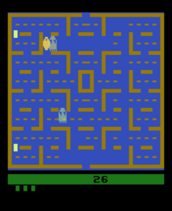 Clyde -Misc Pac-Man Ghosts:Clyde and Blinky - User Screenshot
