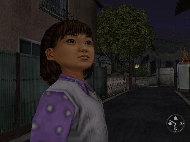 Shenmue - Cut-Scene  - Another kid - User Screenshot