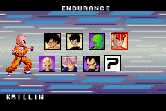Dragon Ball Z - Taiketsu - Character Select  - Seriously, what