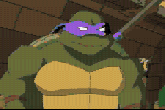 Donatello -Cut-Scene :Donatello in the cartoon - User Screenshot