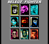 Mortal Kombat 4 - Character Select  - The very ugly character select screen - User Screenshot