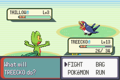 Pokemon Emerald - Battle  - One of the most useless Pokemon ever :/ - User Screenshot