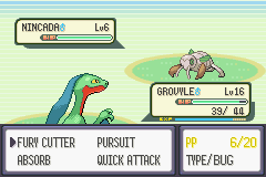 Pokemon Emerald - Battle  - Time to die! - User Screenshot