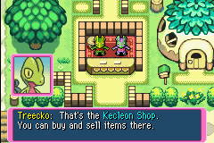 Pokemon Mystery Dungeon - Red Rescue Team - Cut-Scene  - 2 Kecleons huh? - User Screenshot