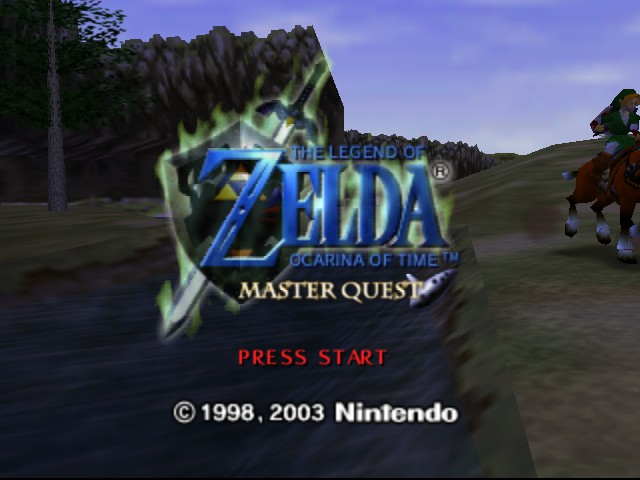Zelda - Ocarina of Time - Master Quest - Introduction  - The opening - User Screenshot