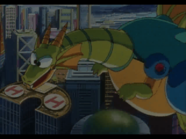 Mecha Dragon -Introduction :Mecha Dragon from Mega Man 2 in the intro - User Screenshot