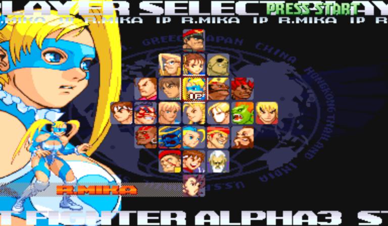 super street fighter alpha 3