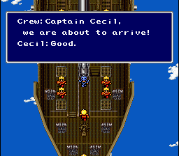 Final Fantasy II - Introduction  - Cecil in the opening - User Screenshot