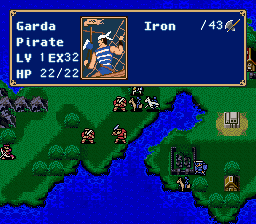 Garda Pirate -Character Profile Enemy profiles:That