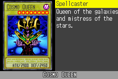 Yu-Gi-Oh! GX - Duel Academy - Character Profile  - Cosmo Queen. - User Screenshot