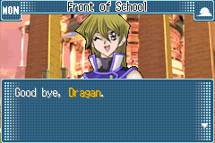 Yu-Gi-Oh! GX - Duel Academy - Cut-Scene  - Good bye, Alexis.  ;) - User Screenshot