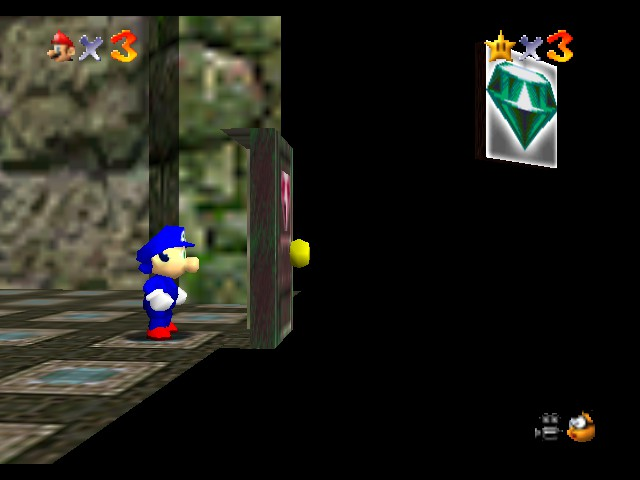 Super Sonic 64 - Misc Glitch - WTF Lakito/Camera Guy? - User Screenshot