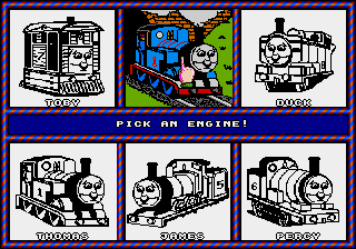 Thomas the Tank Engine and Friends - Mode Select  - Two Thomas