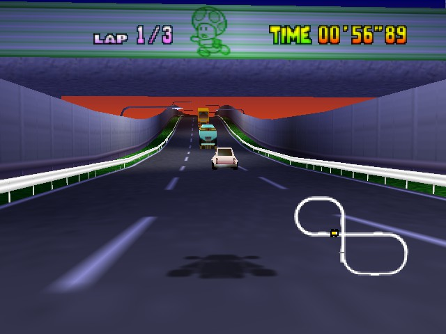 Mario Kart 64 - Level Toad - Where do you think Wario is?? - User Screenshot
