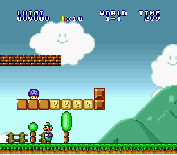 Super Mario All-Stars  Super Mario World - Level  - It