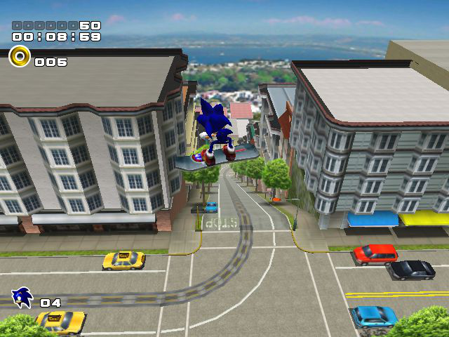 Sonic Adventure 2 - Level  - Escaping the city - User Screenshot