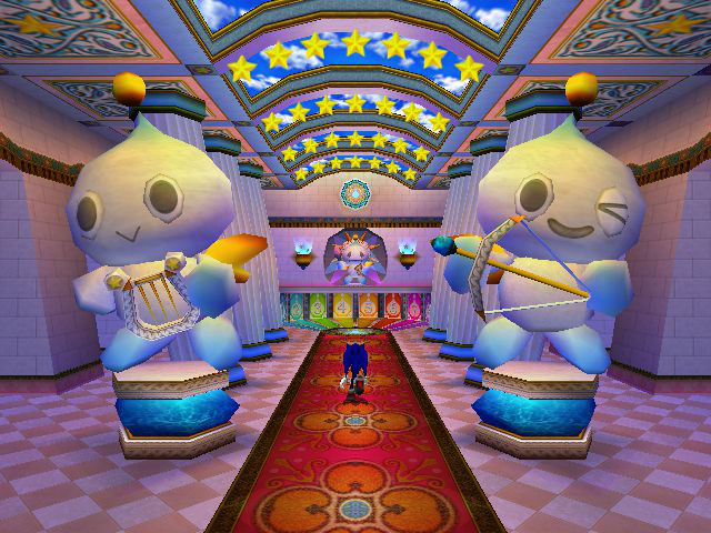 Sonic Adventure 2 - Location  - I want these statues in my room - User Screenshot