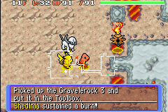 Pokemon Mystery Dungeon - Red Rescue Team - Misc Be for real. - Did you not know you were a bug type? - User Screenshot