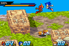 Sonic Battle - Battle  - dragon ball z moment - User Screenshot