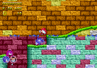 Sonic 2 Heroes - Level  - knux: I am Jesus - User Screenshot