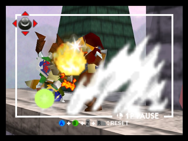 Super Smash Bros. - Battle  - Link, the fire breathing kokiri - User Screenshot