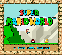 Super Mario World - Introduction  - mario is going to die. - User Screenshot