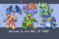 Pokemon Fire Red Omega - Second Attempt. Level 60-63.   - User Screenshot
