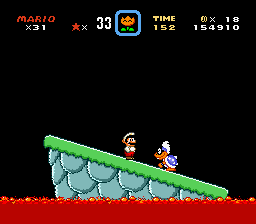 Super Mario World - Battle  - Iggy Koopa Battle - User Screenshot