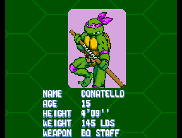 Donatello -Character Profile :Donatello