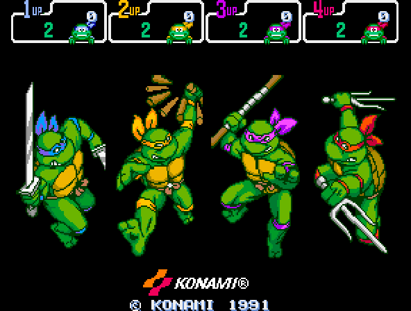 Donatello -Character Select :Turtle Power!! - User Screenshot