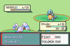 Pokemon Burning Ruby - Battle  - Wow, it lived with just 1 HP!  - User Screenshot
