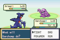 Pokemon Dark Rising 2 (beta 2) - Battle  - What is Grimer looking at?!?! - User Screenshot