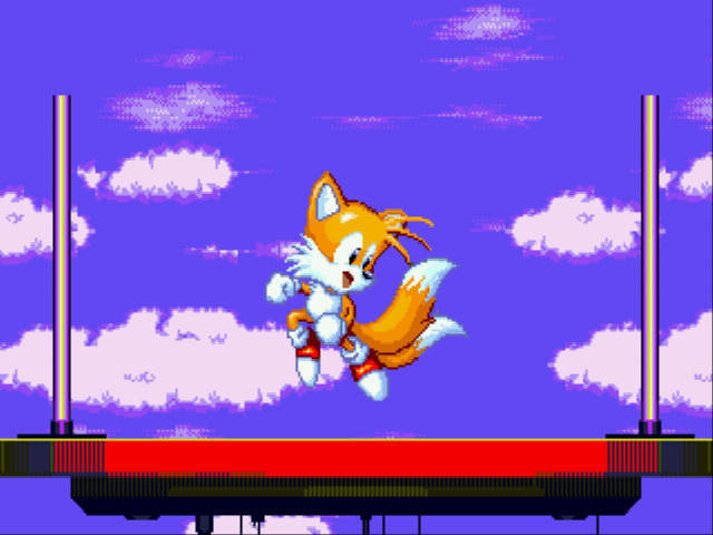 Sonic the Hedgehog 3 - Ending  - Tails saved the day! - User Screenshot