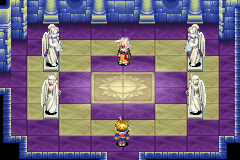Golden Sun - Cut-Scene  - Sun in the middle.  - User Screenshot