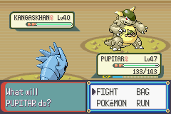Pokemon Rebirth - Battle  - Shiny Kangaskan! - User Screenshot