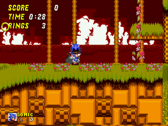Play sonic 2 exe online gen rom hack of sonic the hedgehog 2 retro