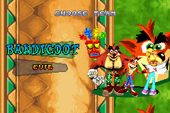 Crash Nitro Kart - Character Select  - Team Bandicoot - User Screenshot