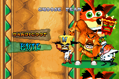 Crash Nitro Kart - Character Select  - Team Evil - User Screenshot