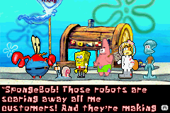 SpongeBob SquarePants - Battle for Bikini Bottom - Introduction  - Typical Mr. Krabs - User Screenshot